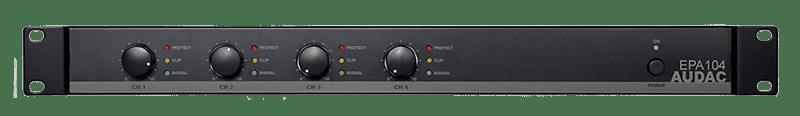 EPA104 - Quad-channel Class-D amplifier 4 x 100W - crossover