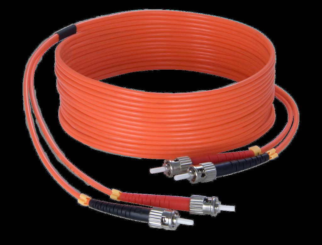 FBS125 - Fiber optic cable - st/pc - st/pc - LSHF