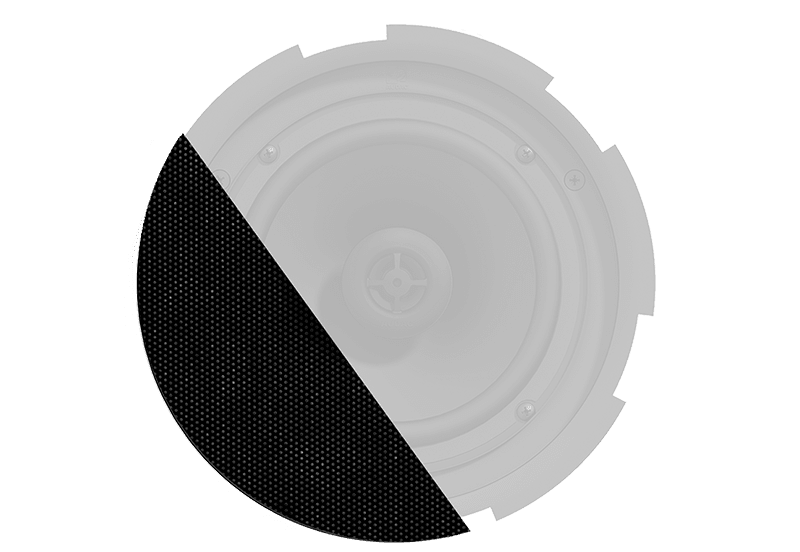 GLI08 - Front grill for CIRA8 series speakers with cloth & outdoor treatment