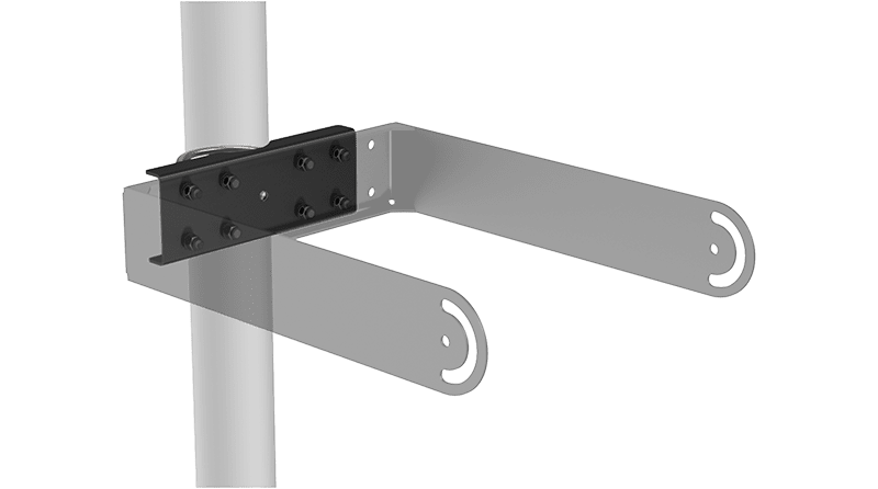MBK200PM - Pole mount adapter set for MBK208MK2 and MBK212MK2