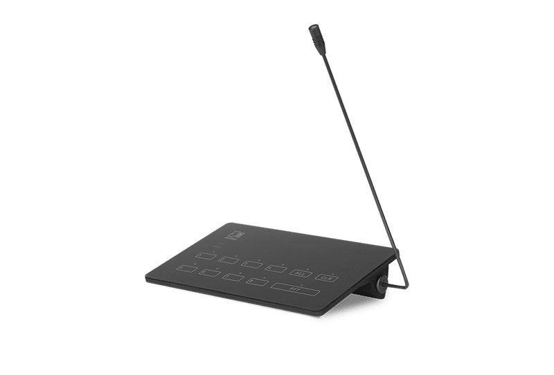 MPX88 - SurfaceTouch™ paging microphone 8 zones