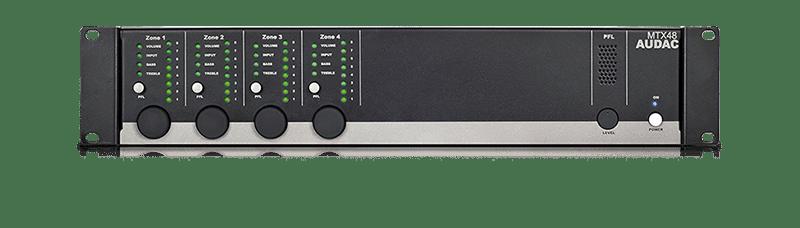 MTX48 - 4-zone audio matrix