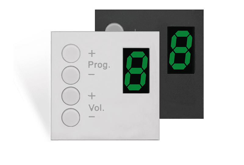 MWX45 - MTX wall panel controller 45 x 45 mm