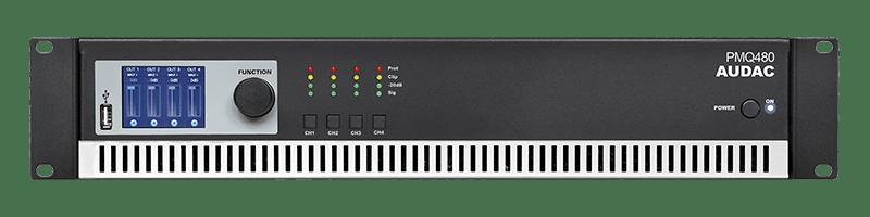 PMQ480 - WaveDynamics™ quad-channel 100V power amplifier