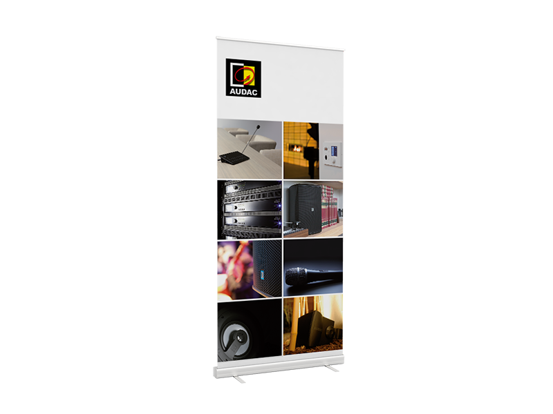 PROMO5026 - AUDAC roll up banner