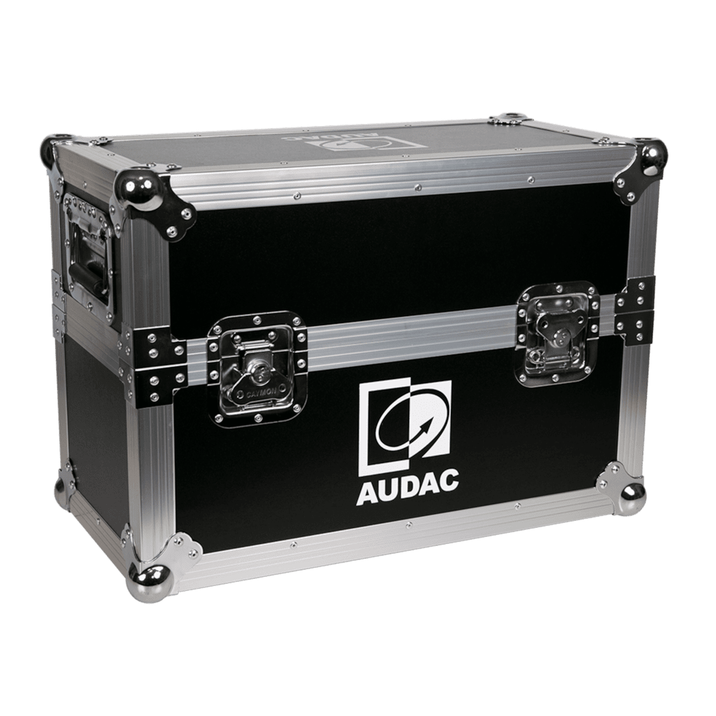 PROMO5106 - Flight case for 2 x XENO6 loudspeaker