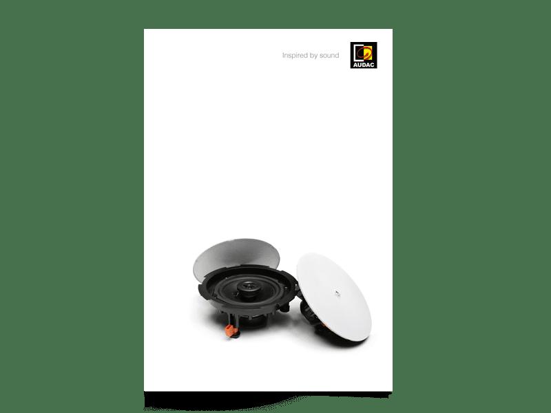 PROMO5206 - AUDAC Catalogue V1.4