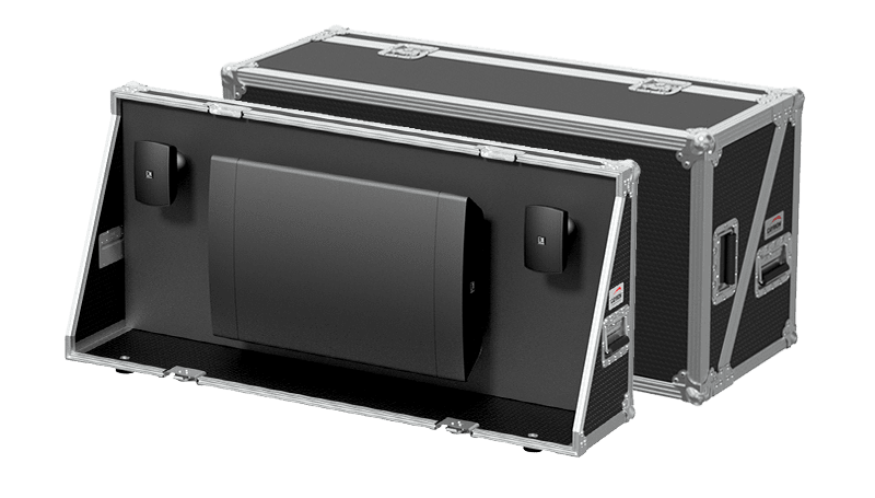 PROMO5323 - Demo flightcase for ATEO and NOBA8A loudspeakers