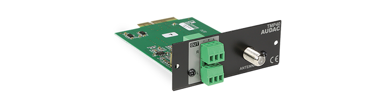 TMP40 - SourceCon™ FM tuner module