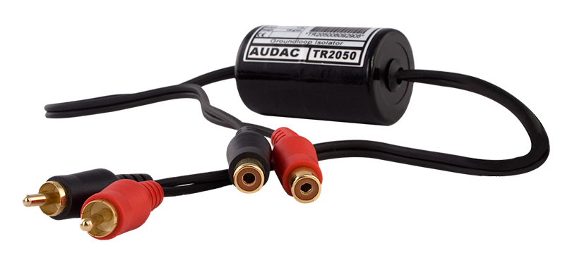 TR2050 - Stereo groundloop isolator RCA male - RCA female