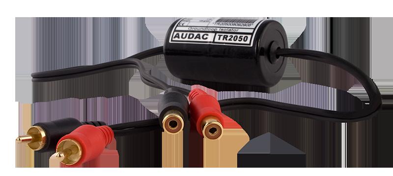 TR2050 - Stereo groundloop isolator RCA male - RCA female