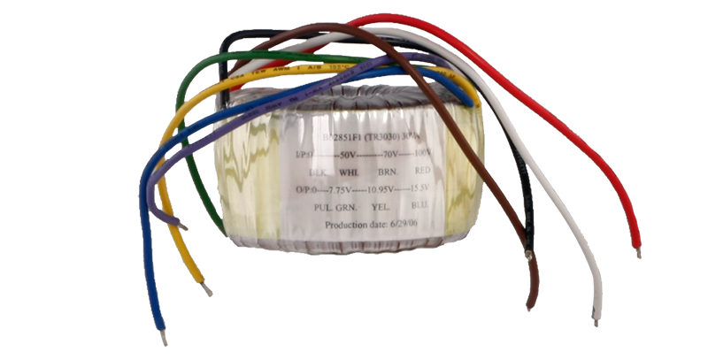 TR3030 - Toroidal audio line transformer 30W 100V