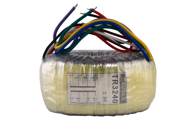 TR3240 - Toroidal audio line transformer 240W 100V