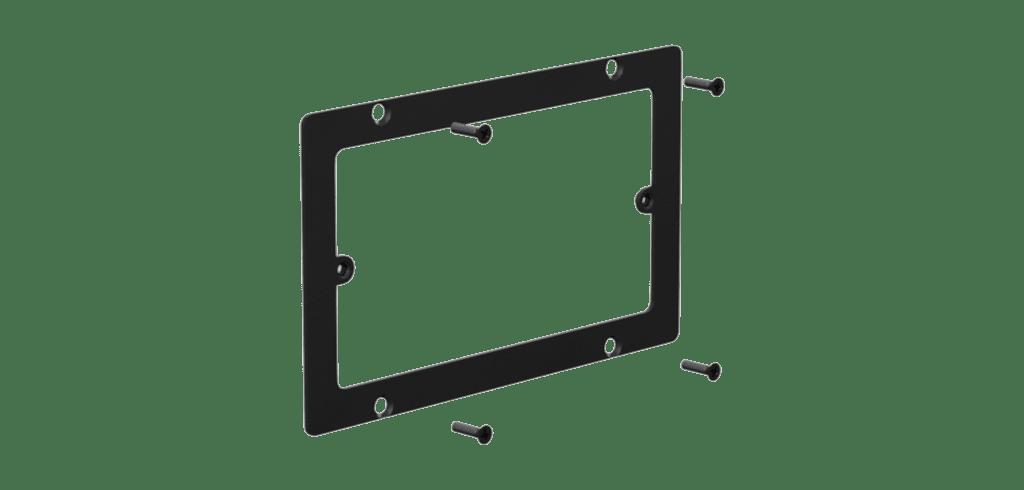 WB50/AF - Adapter frame for WB50 to 3-gang US standard