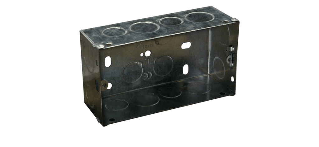 WB50/FS - Flush mount box for AUDAC wallpanel - solid wall
