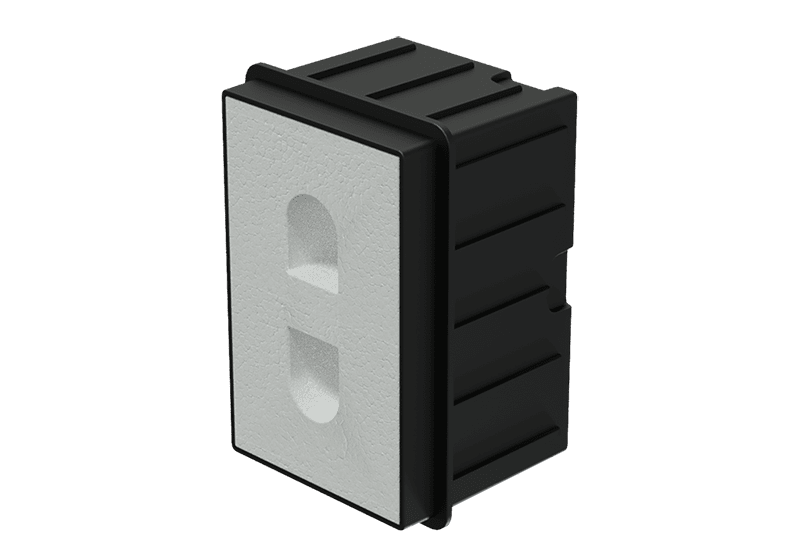 WMM20 - In-wall box for MERO2 for concrete/brick wall