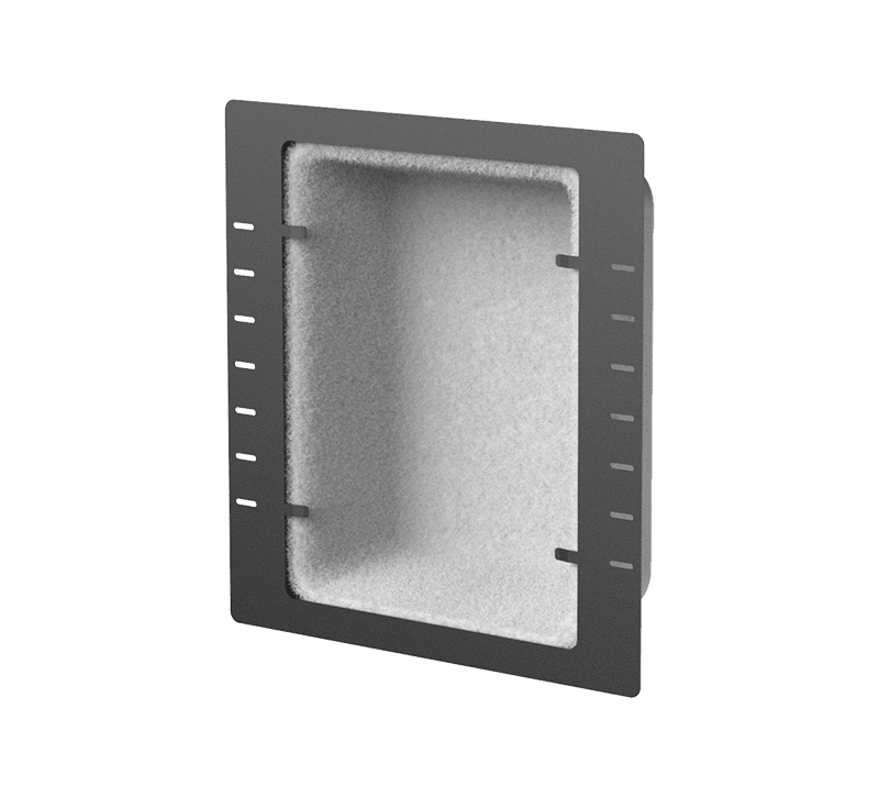 WMM450 - Metal in ceiling/wall back box for flush mount speakers - Fire rated