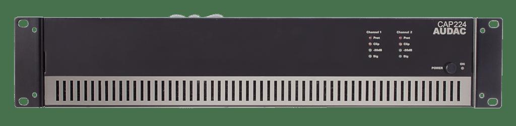 CAP224 - Dual-channel power amplifier 2 x 240W 100V