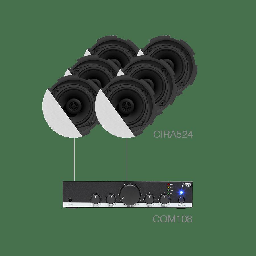 CANTO7.6 - 6 x CIRA524 + COM108