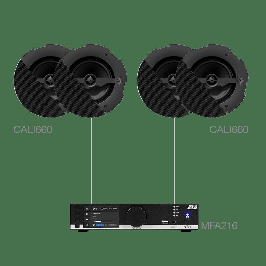 CENTO6.4D - MFA216 + 4 x CALI660