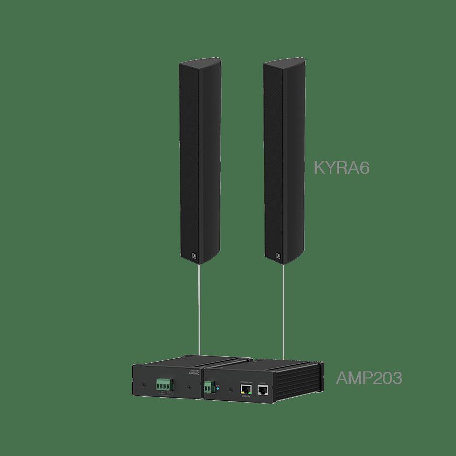 CONGRESS6.2 - AMP203 + 2 x KYRA6