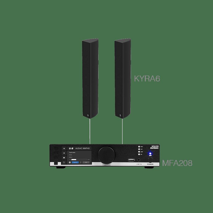 CONGRESS6.2C - MFA208 + 2 x KYRA6