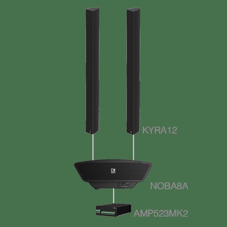 CONGRESS7.3+ - 2 x KYRA12 + NOBA8A + AMP523MK2