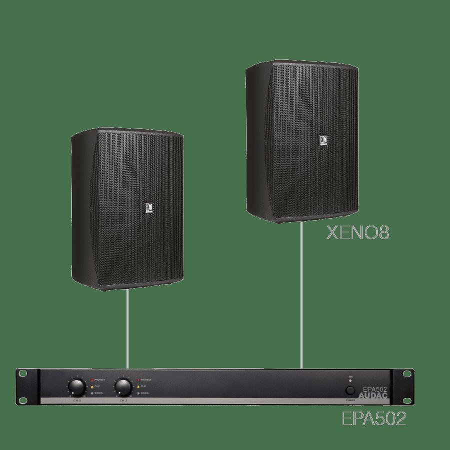 FESTA8.2E - 2 x XENO8 + EPA502
