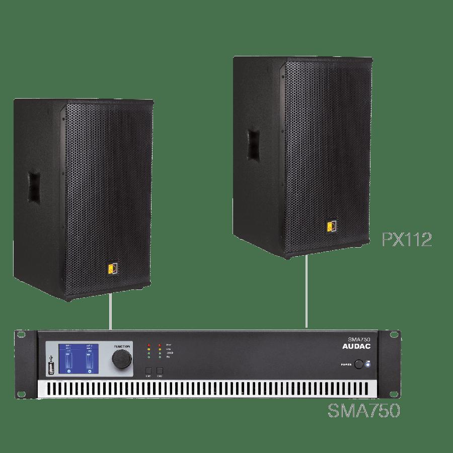 FORTE12.2 - 2 x PX112 + SMA750