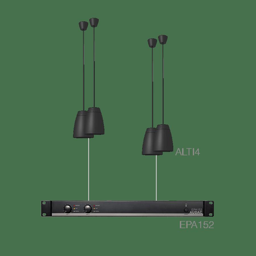 LENTO4.4E - 4 x ALTI4/W + EPA152