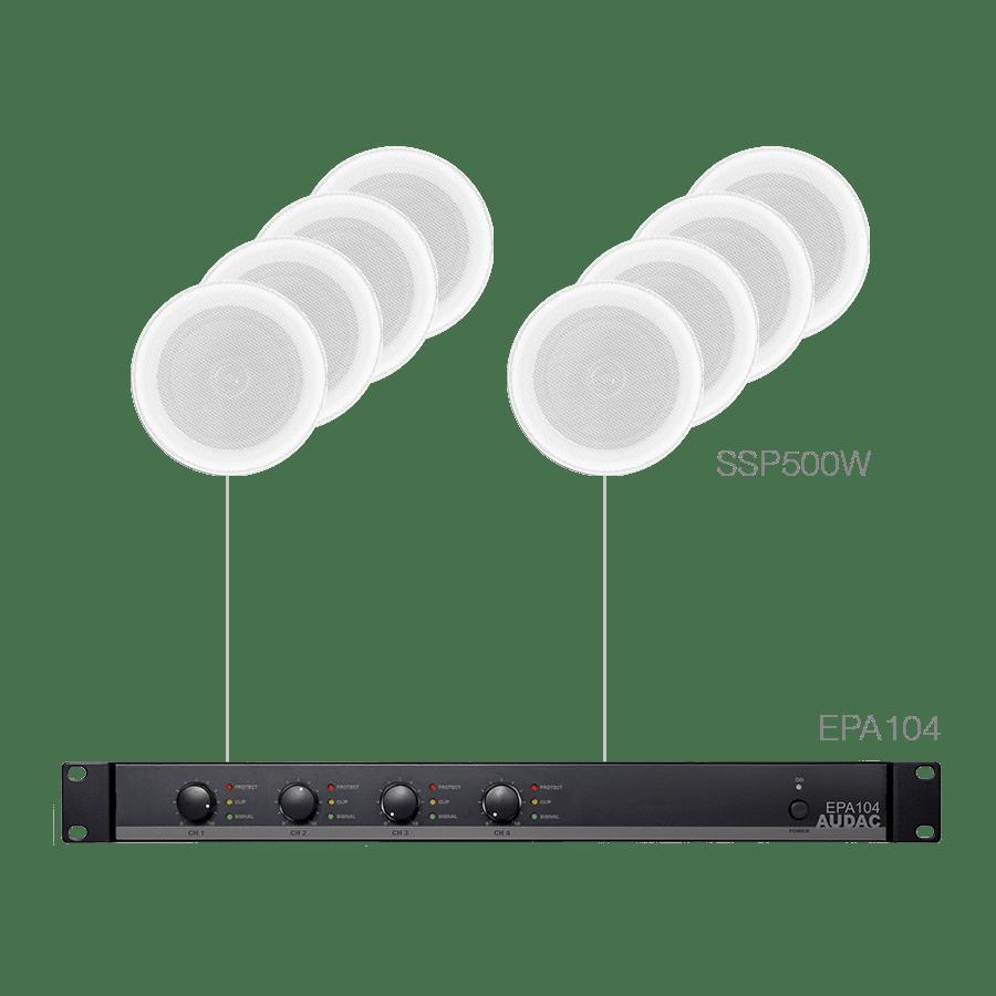 PURRA4.8E - 8x SSP500 + EPA104