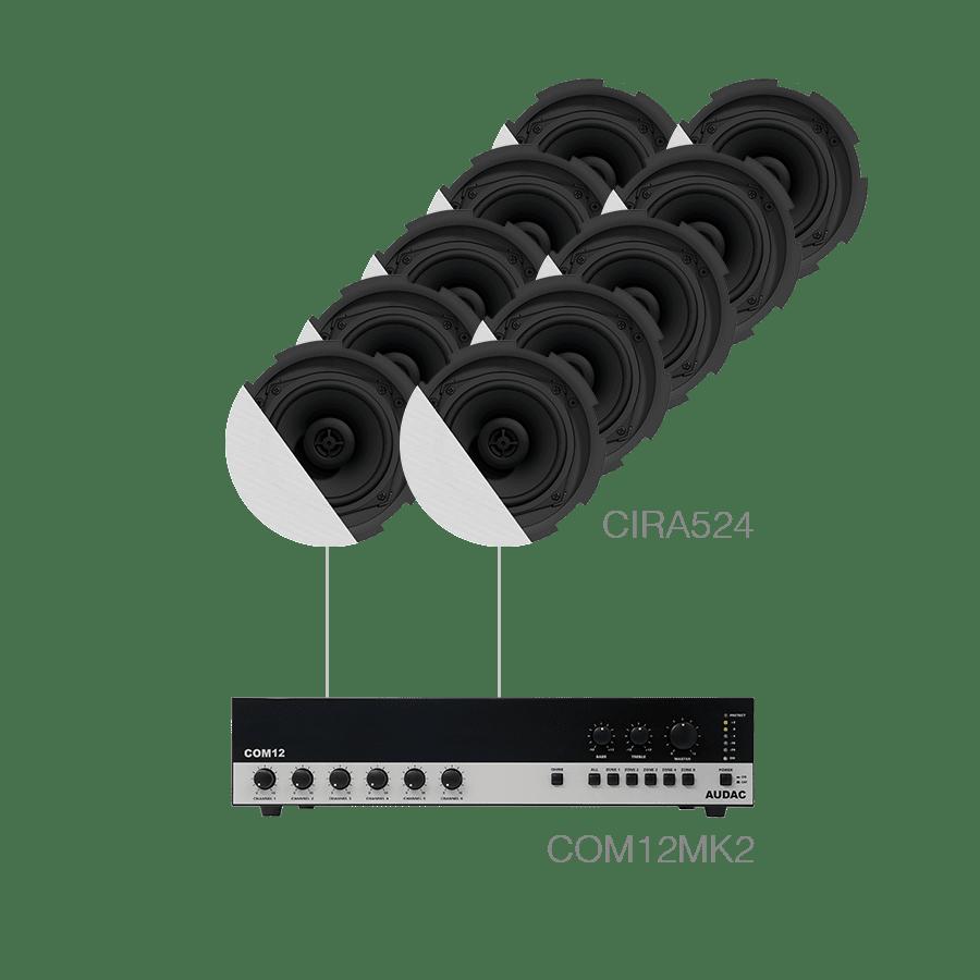 CANTO7.10P - 10 x CIRA524 + COM12MK2