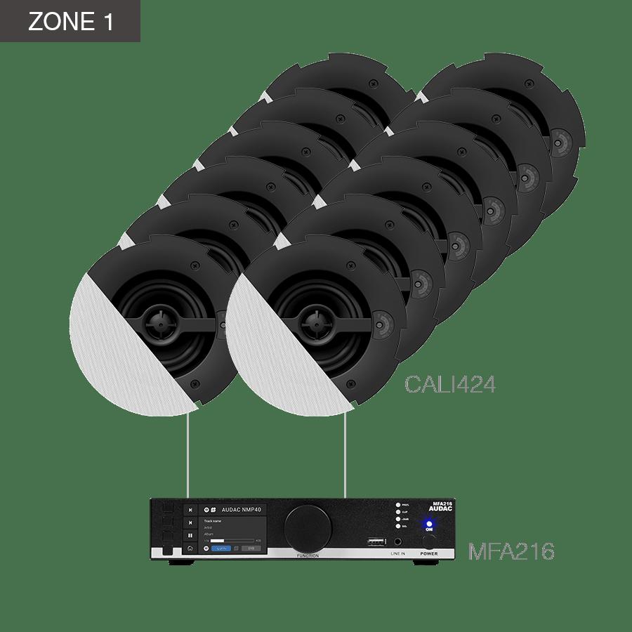 CENTO4.24 - MFA216 + 24 x CALI424 + COM12MK2