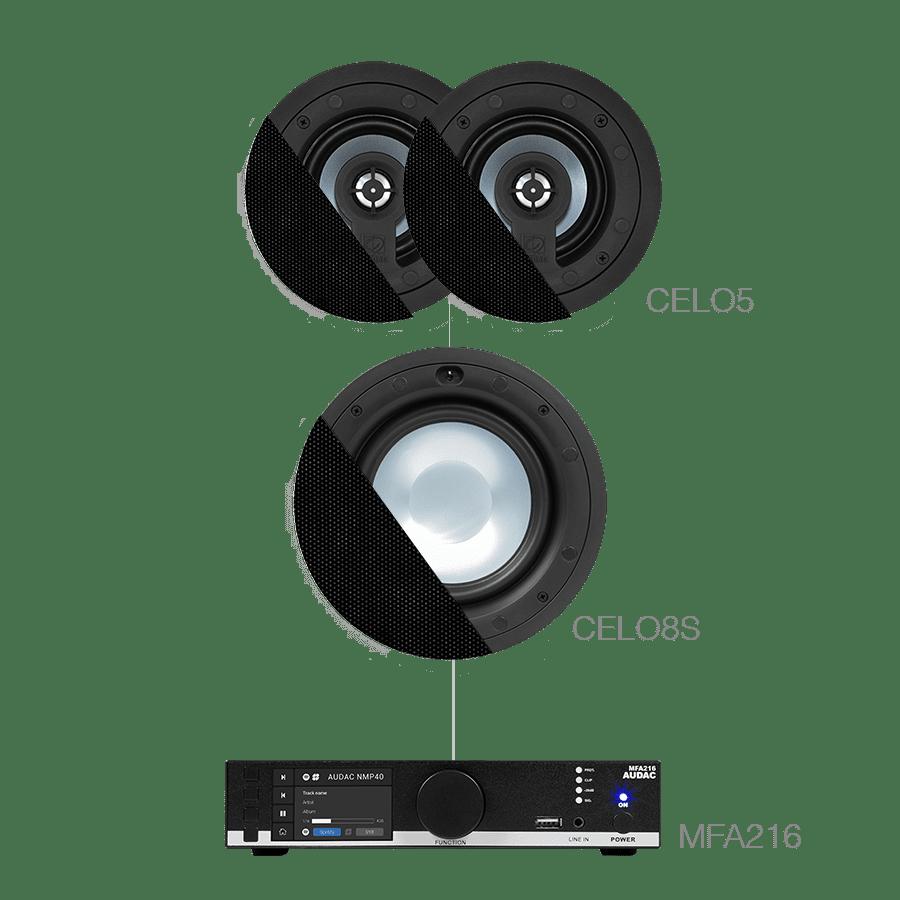 CENTO5.3 - MFA216 + CELO8S + 2 x CELO5