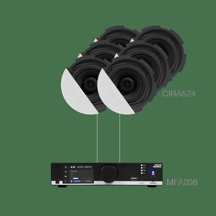 CENTO5.6 - MFA208 + 6 x CIRA524