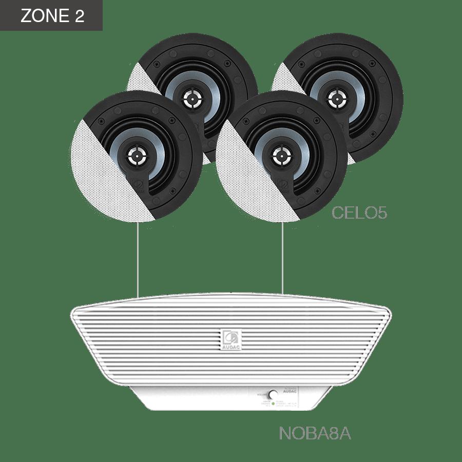 CENTO5.8 - MFA216 + CELO8S + 6 x CELO5 + NOBA8A