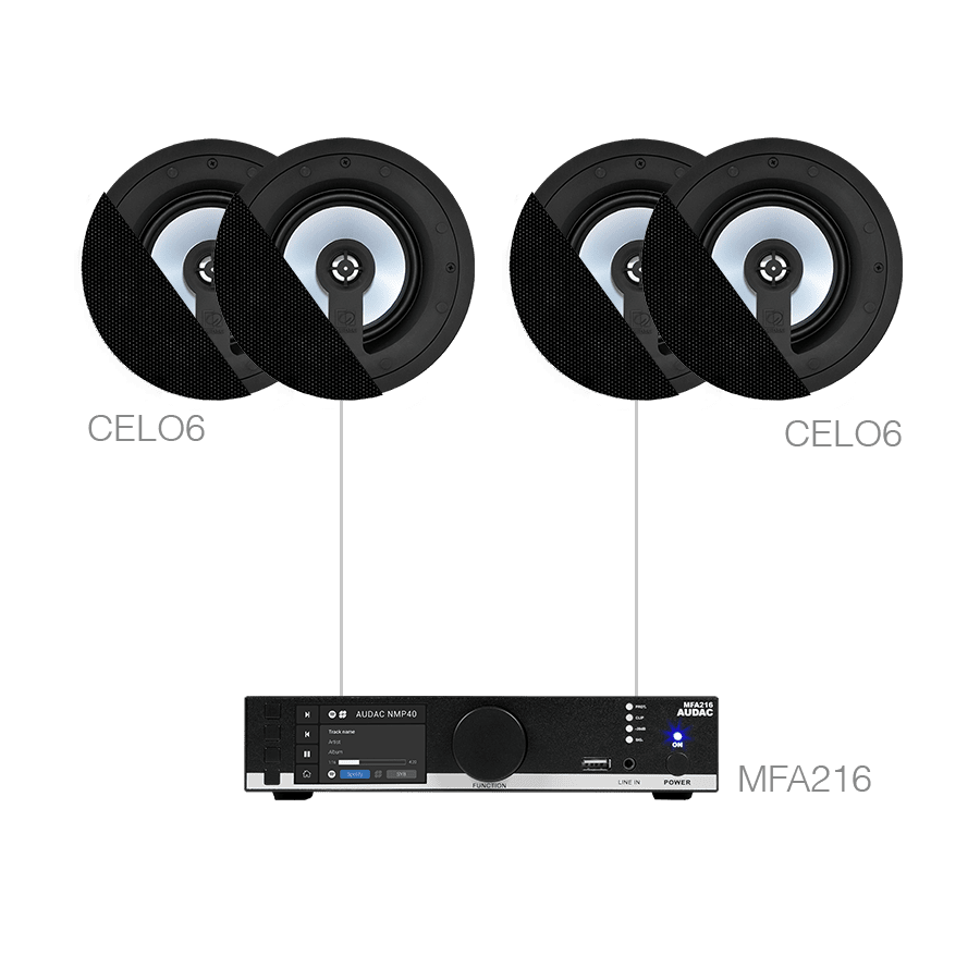 CENTO6.4 - MFA216 + 4 x CELO6