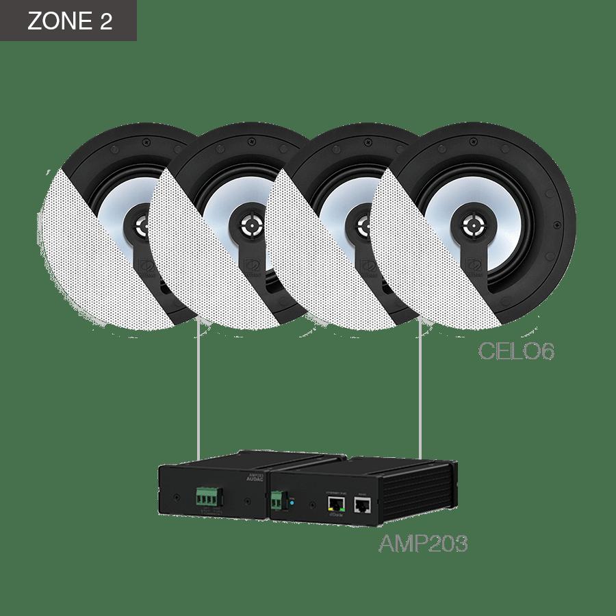 CENTO6.8Z - MFA208 + ANI44XT + 2 x AMP203  + 6 x CELO6 + 2 x ATEO4