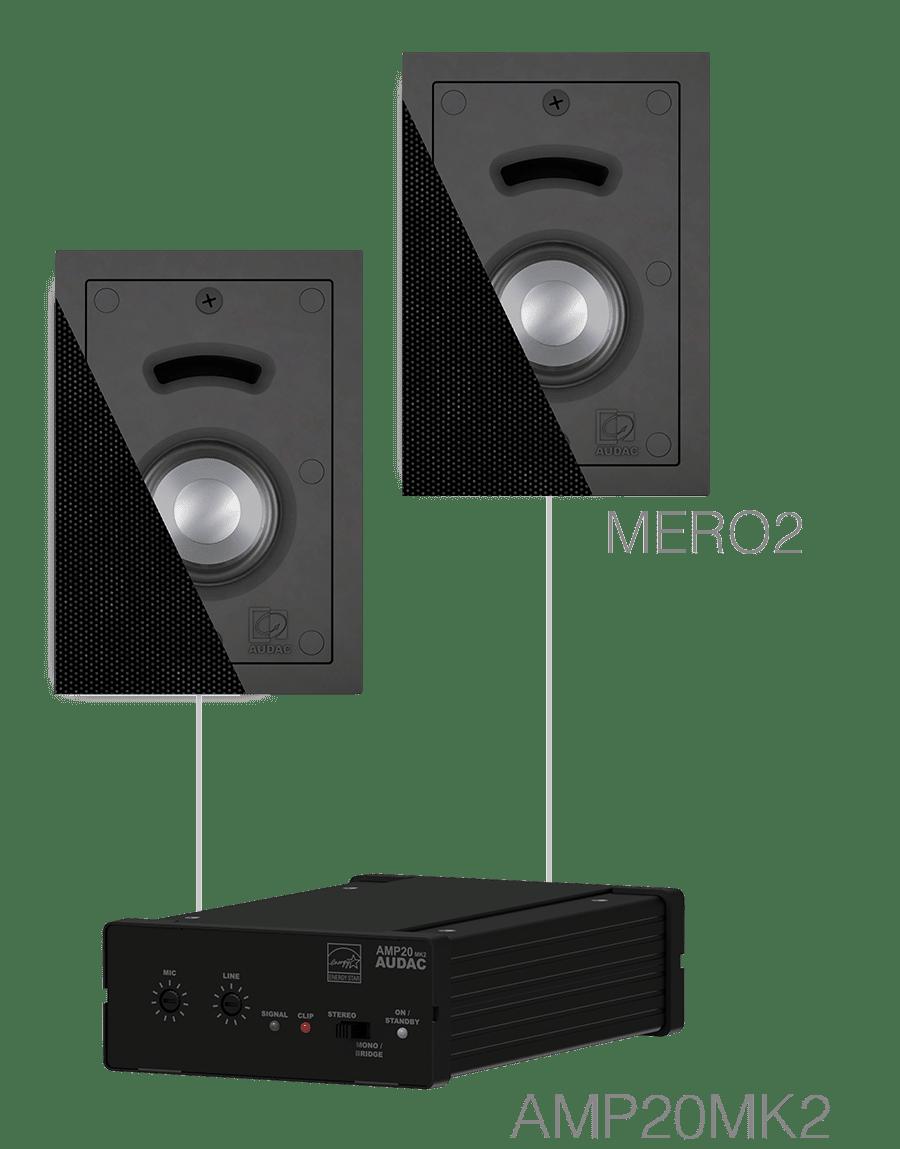 CERRA2.2 - 2 x MERO2 + AMP20MK2