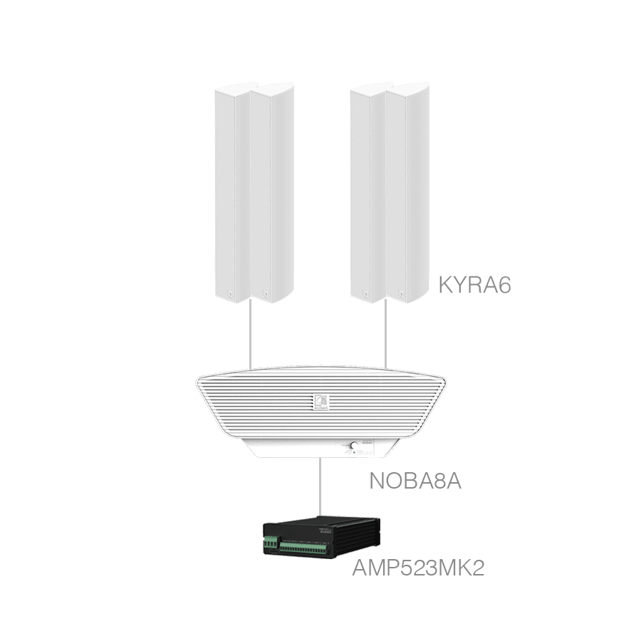 CONGRESS5.5+ - 4 x KYRA6 + NOBA8A  + AMP523MK2