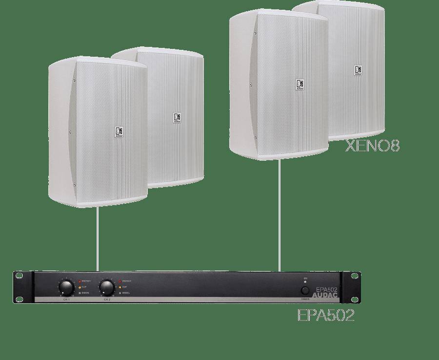 FESTA8.4E - 4 x XENO8 + EPA502