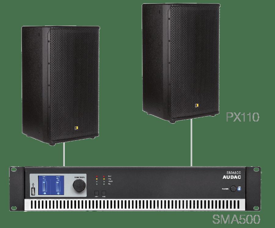 FORTE10.2 - 2 x PX110 + SMA500