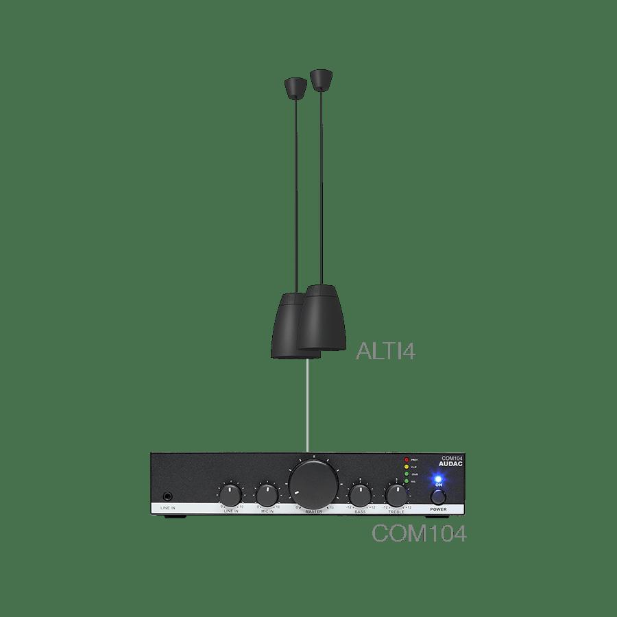 LENTO4.2 - 2 x ALTI4/W + COM104