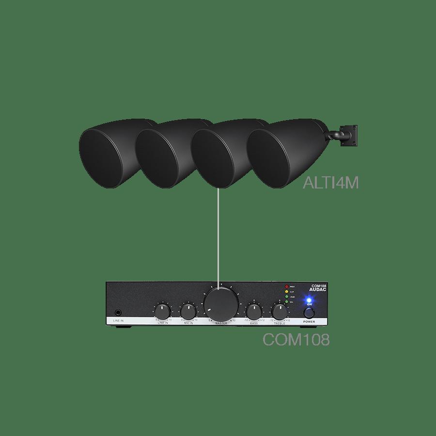 LENTO4.4M - 4 x ALTI4M/W + COM108