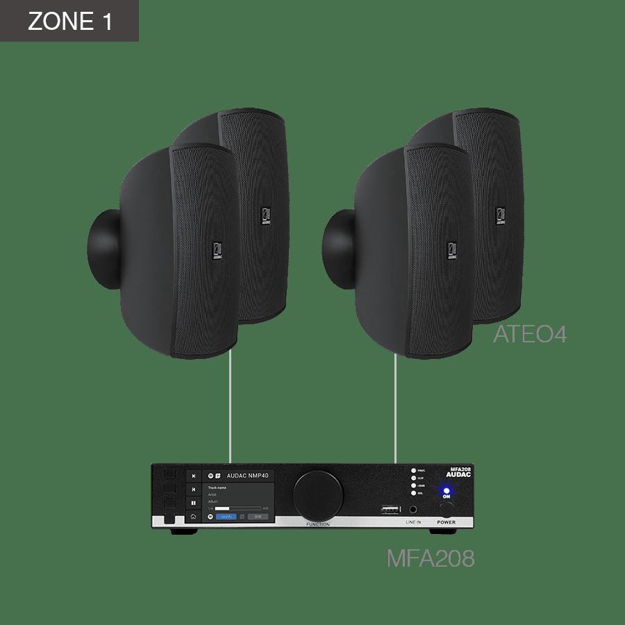 MENTO4.10 - MFA208 +10 x ATEO4 + COM108