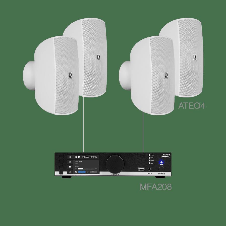 MENTO4.4 - MFA208 + 4 x ATEO4