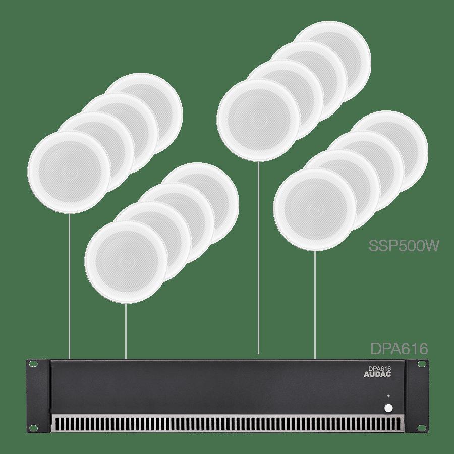 PURRA4.16 - 16x SSP500 + DPA616