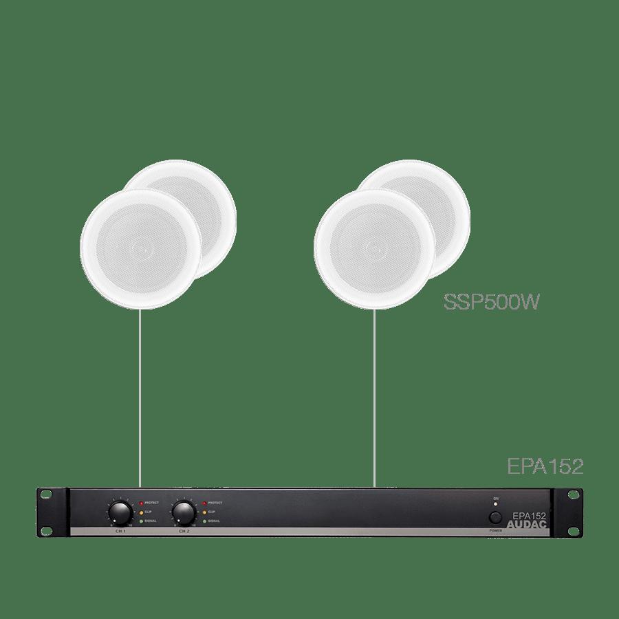 PURRA4.4E - 4x SSP500 + EPA152