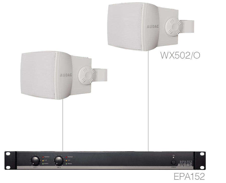 PURRA5.2E - 2 x WX502MK2/O + EPA152