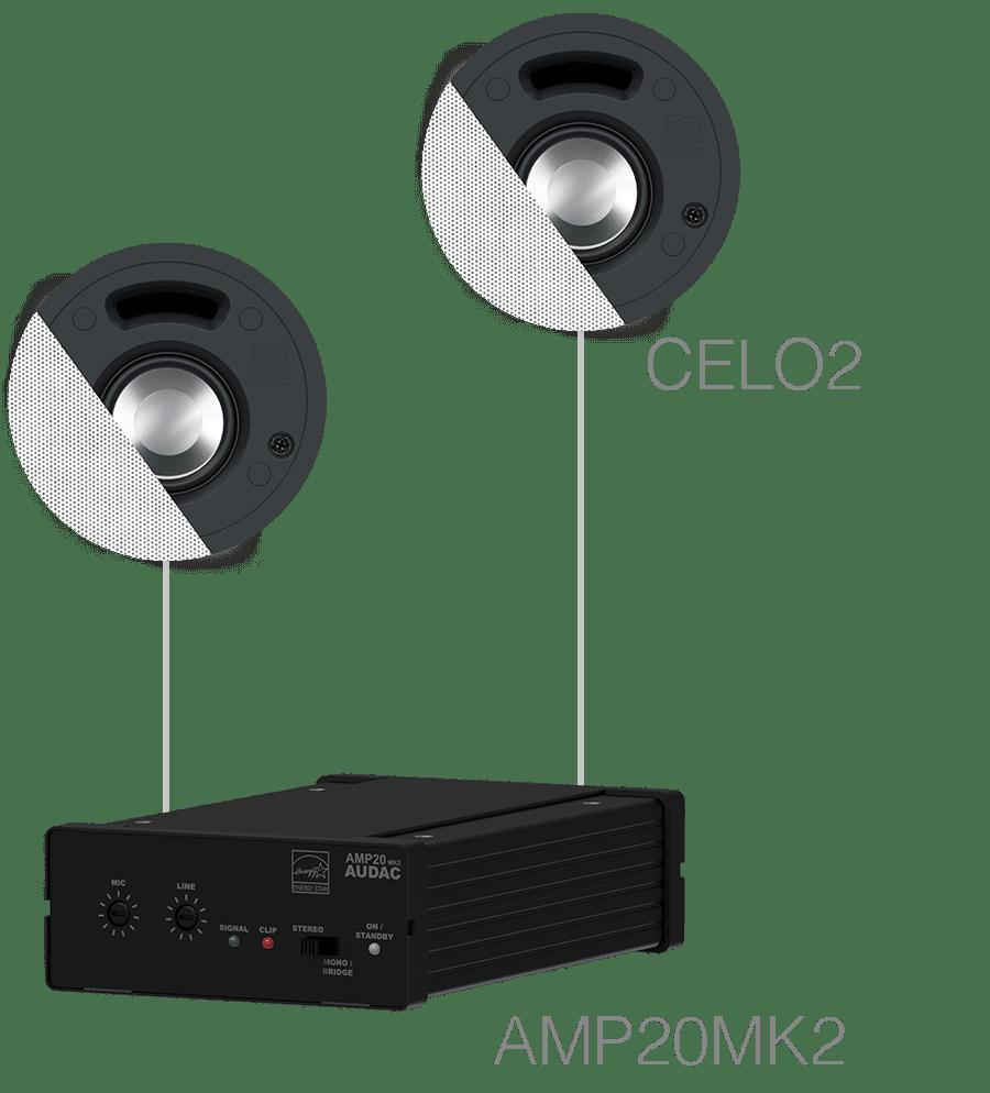 SENSO2.2 - 2 x CELO2 + AMP20MK2